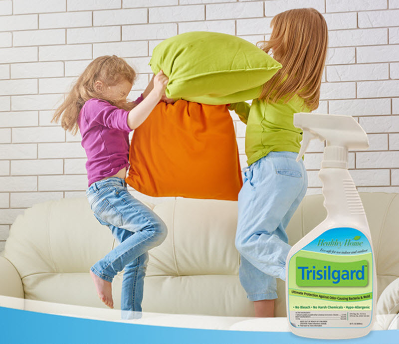 Trisilgard protects fabrics against bacteria.